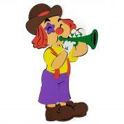 Palhaço com Trompete