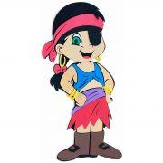 Pirata Menina em EVA