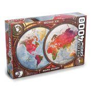Puzzle Mapa Mundi 4000 Peças Século XXI