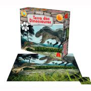 Puzzle Terra dos Dinossauros
