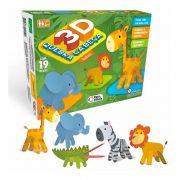 Quebra-Cabeça 3D Safari - Pais e Filhos