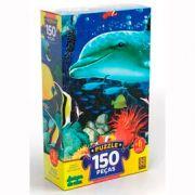 Quebra Cabeça Amigos do Mar 150 peças