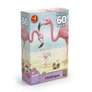 Quebra Cabeça Flamingo 60 Peças