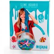 Slime Aquário com Criaturas Marinhas - Dican