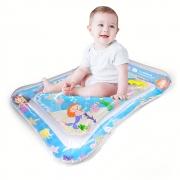 Tapete Aquário Inflável Água e Ar para Bebês Tema Sereia - Brincadeira de Criança