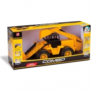 Trator Retroescavadeira Combo Super Articulada - Cardoso Toys