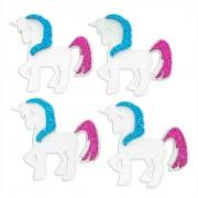 Unicórnio em Eva Com Glitter - Kit com 100 Unidades