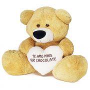 Urso Te Amo Mais Que Chocolate