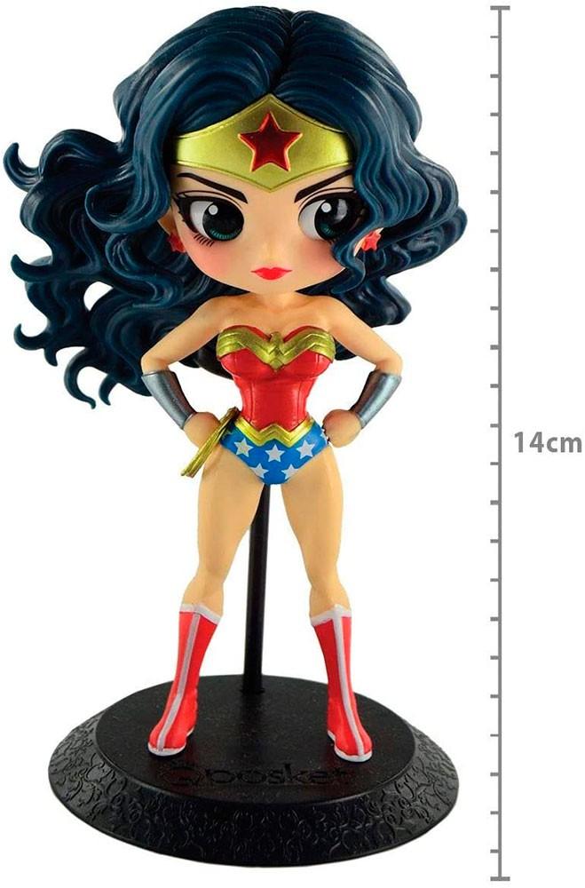 Mulher Maravilha Action Figure Q Posket Colecionável