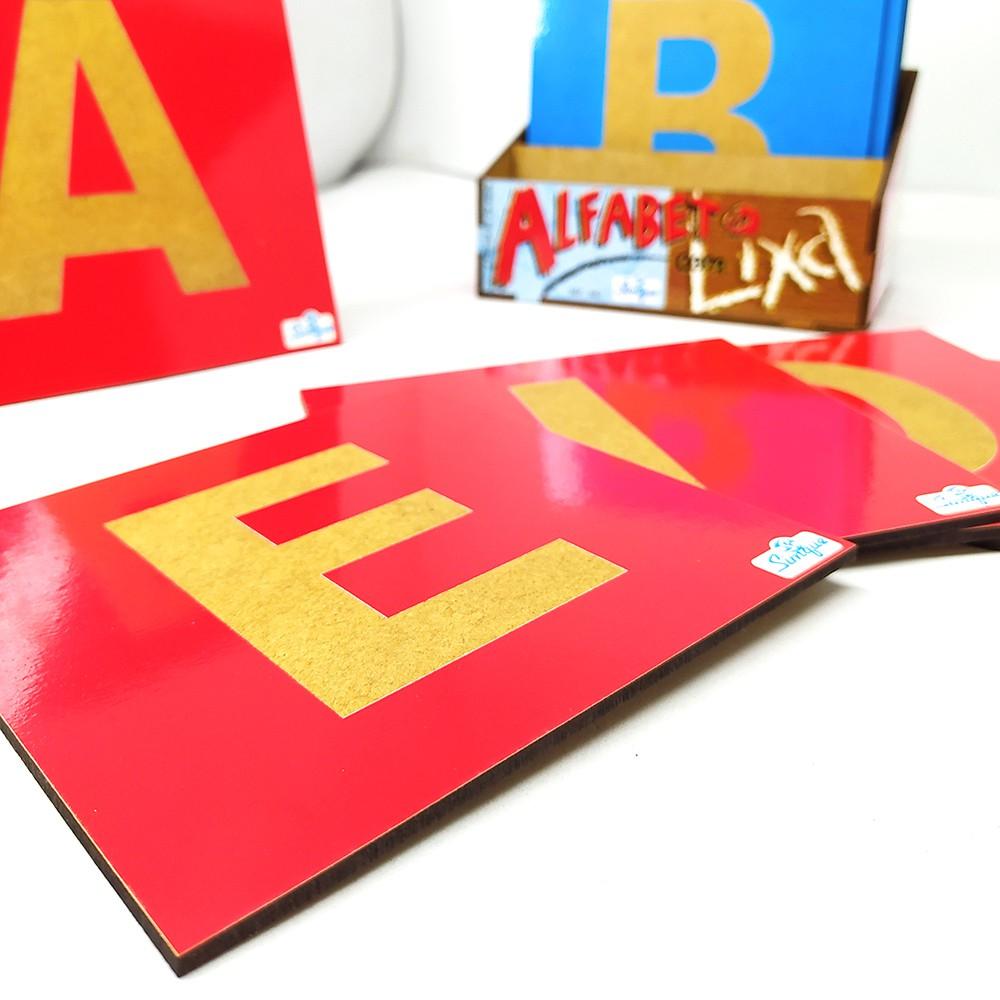 Alfabeto com Lixa - Simque
