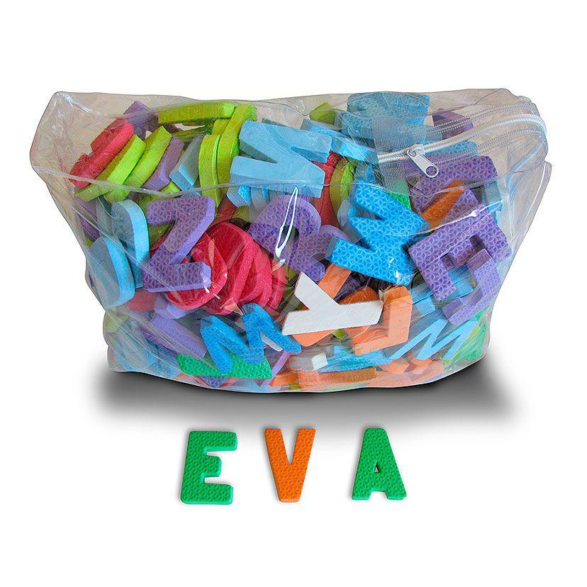 Alfabeto em EVA para Sala de Aula 10 Alfabetos 6cm