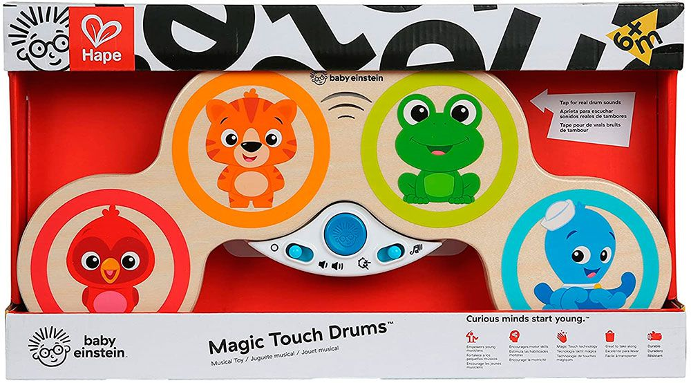 Bateria Musical Infantil Baby Einstein Magic Touch - Hape