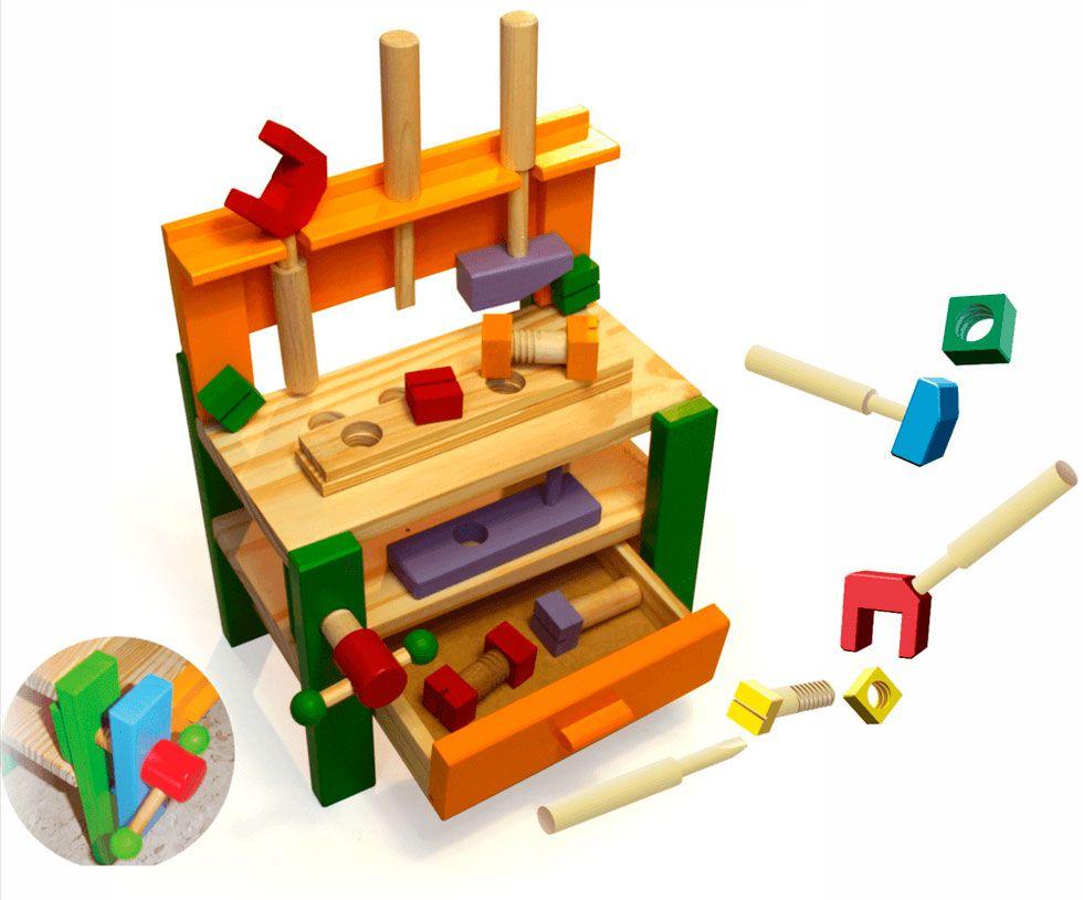 Bancada de Ferramentas de Brinquedo