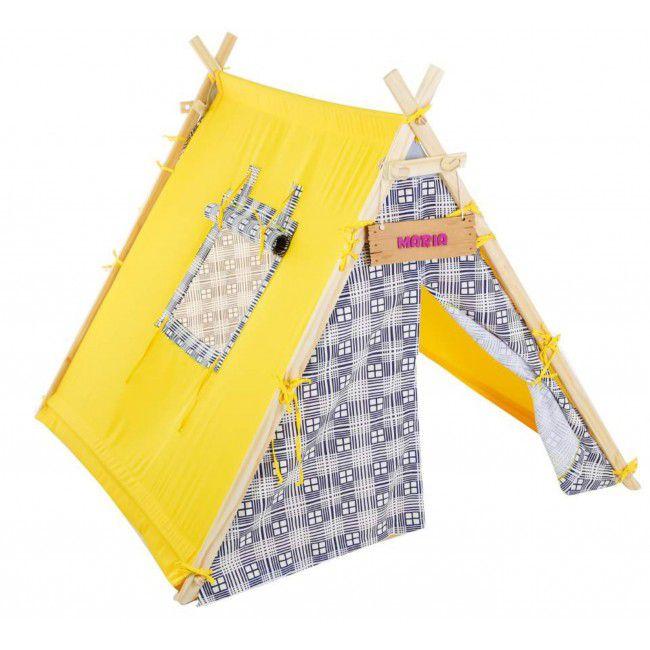 Barraca Infantil Amarela