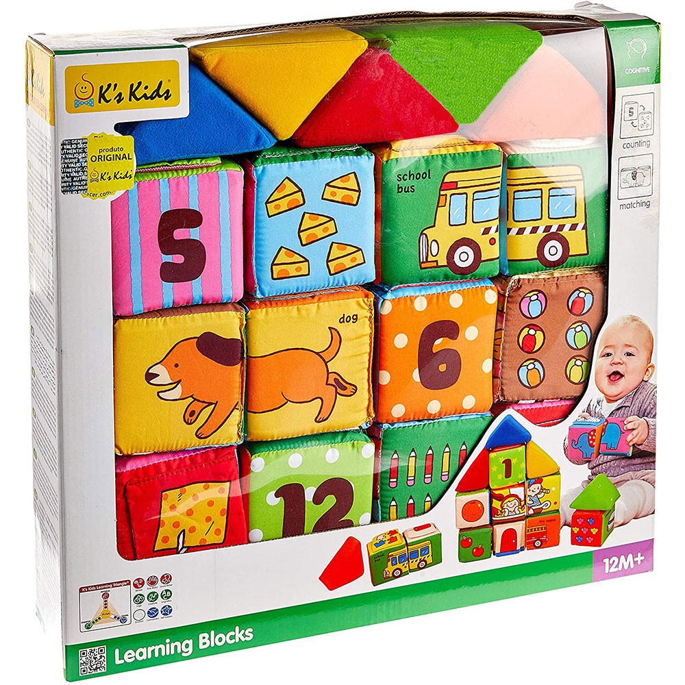 Blocos de Aprendizagem do Bebê - K's Kids