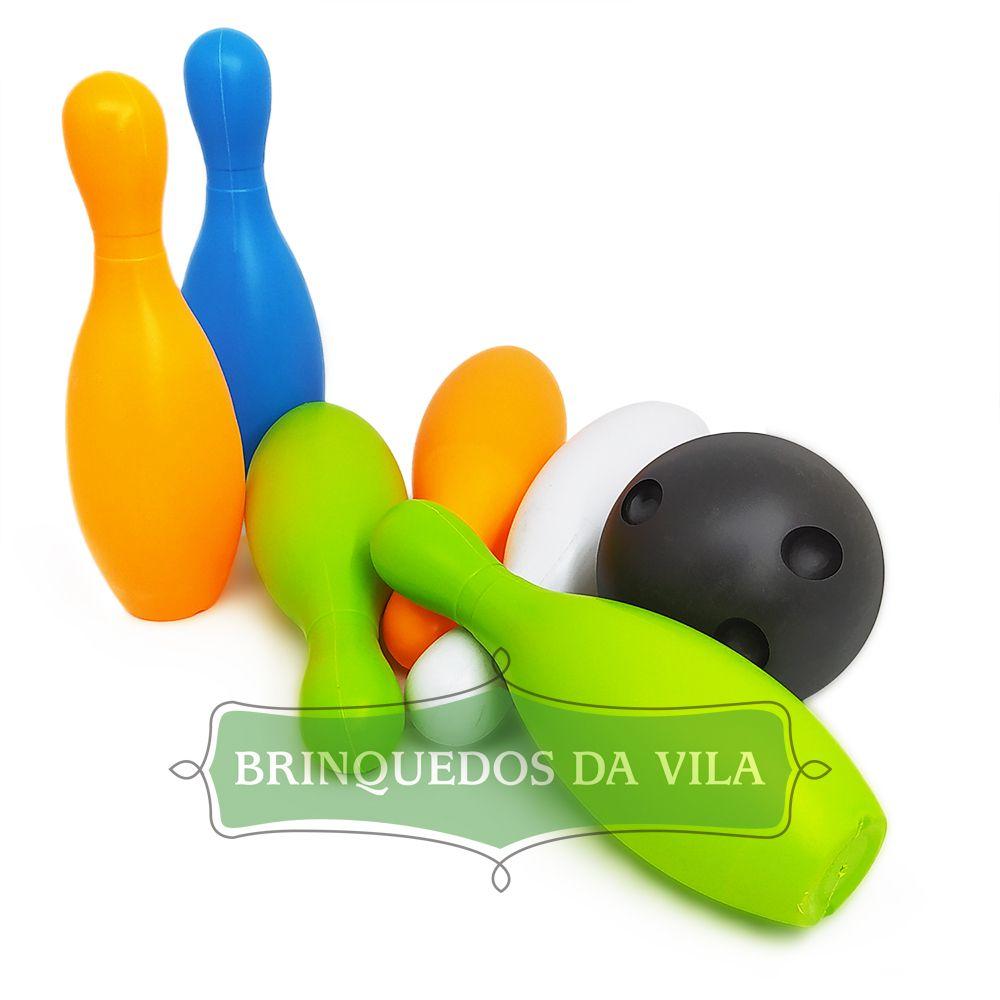 Boliche de Brinquedo - Kit Go Play - Multikids