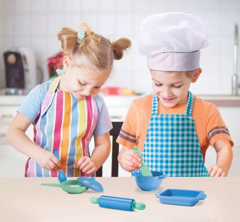 Bom Chef Kit de Cozinha Menino ou Menina