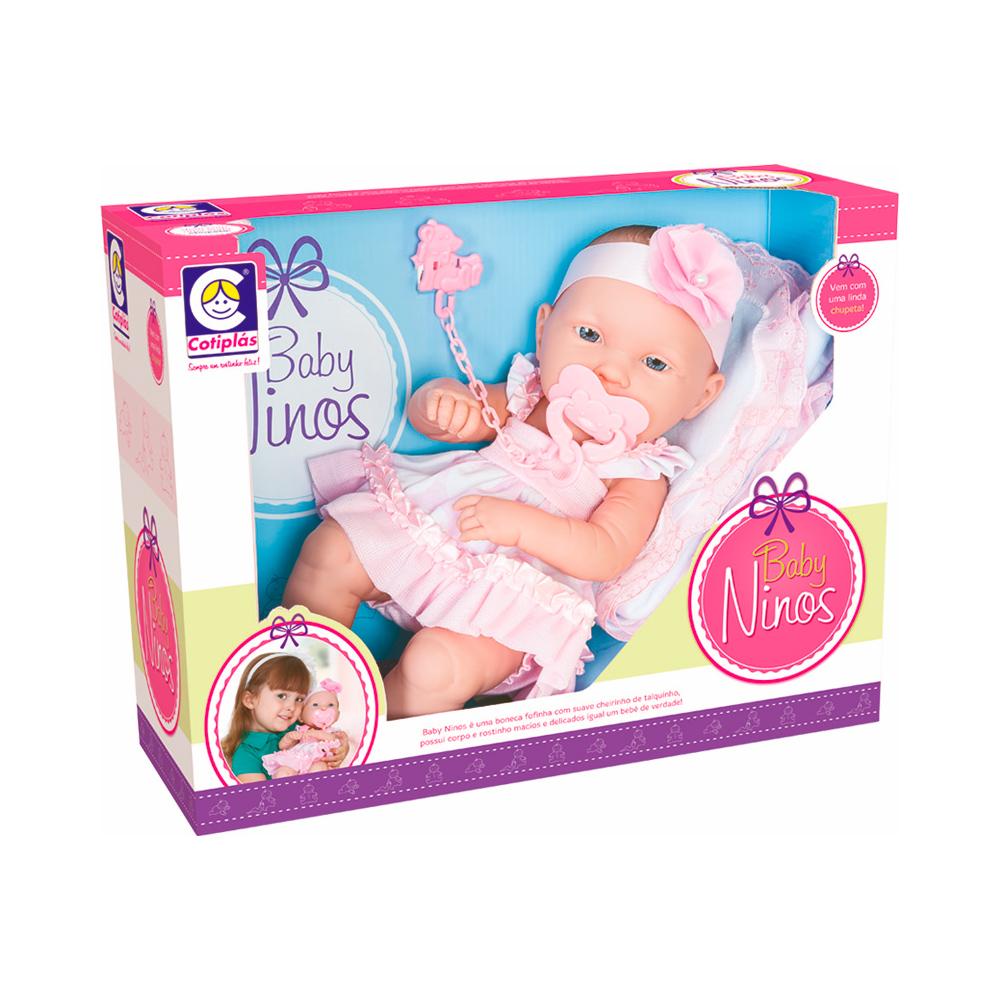 Boneca Baby Ninos Newborn - Cotiplás