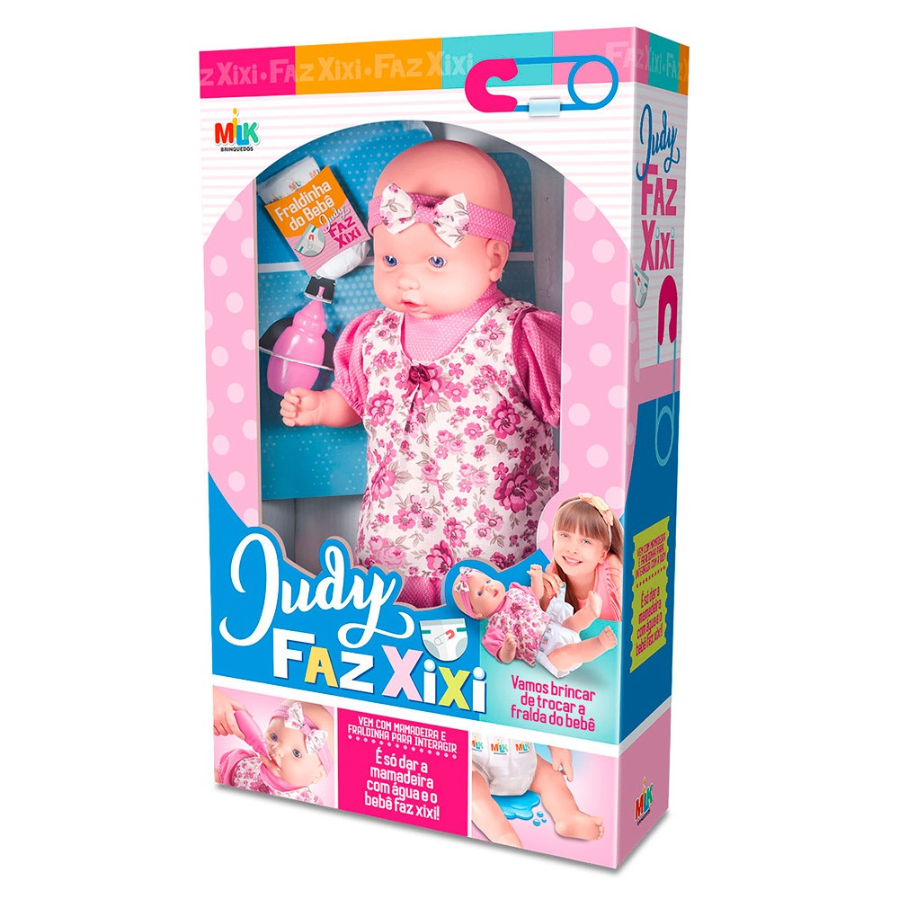 Boneca Judy faz Xixi - Milk