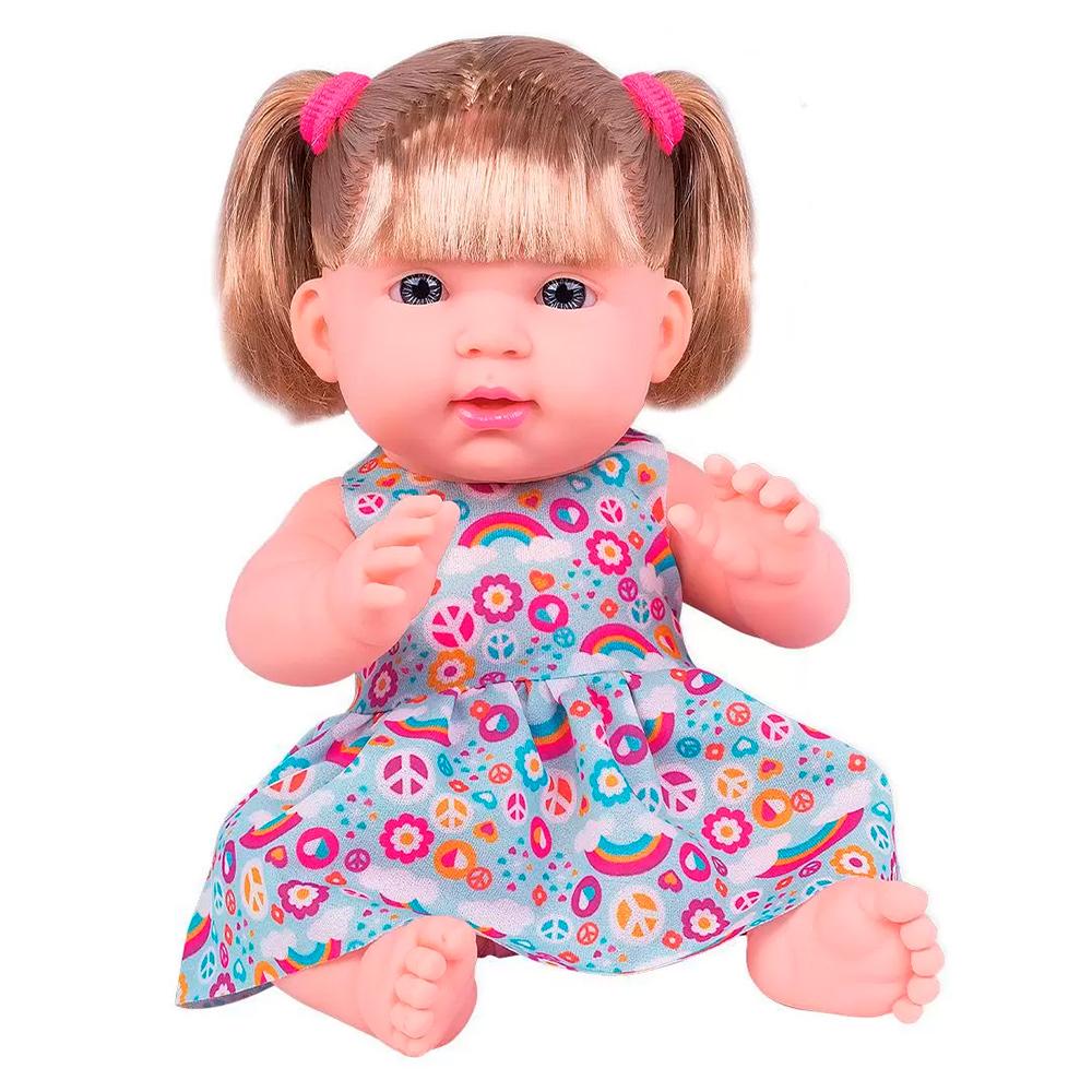 Boneca Luísa Com Chupeta - Cotiplás
