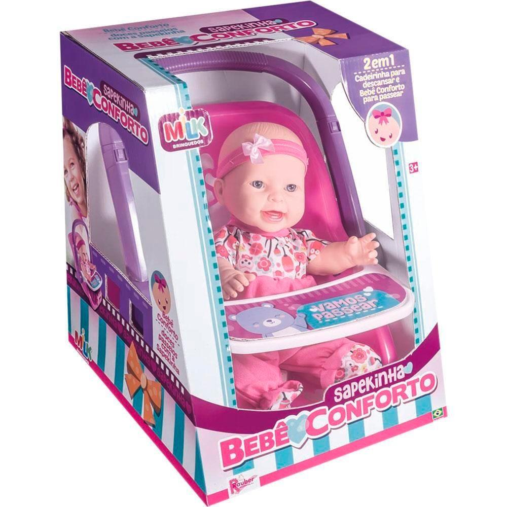 Boneca Sapekinha Bebê Conforto