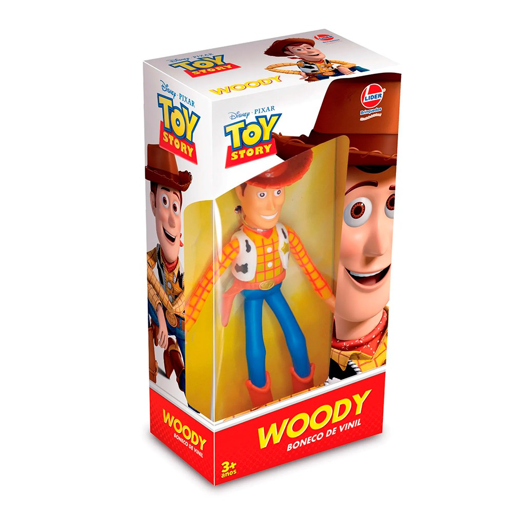 Boneco Vinil Woody - Toy Story