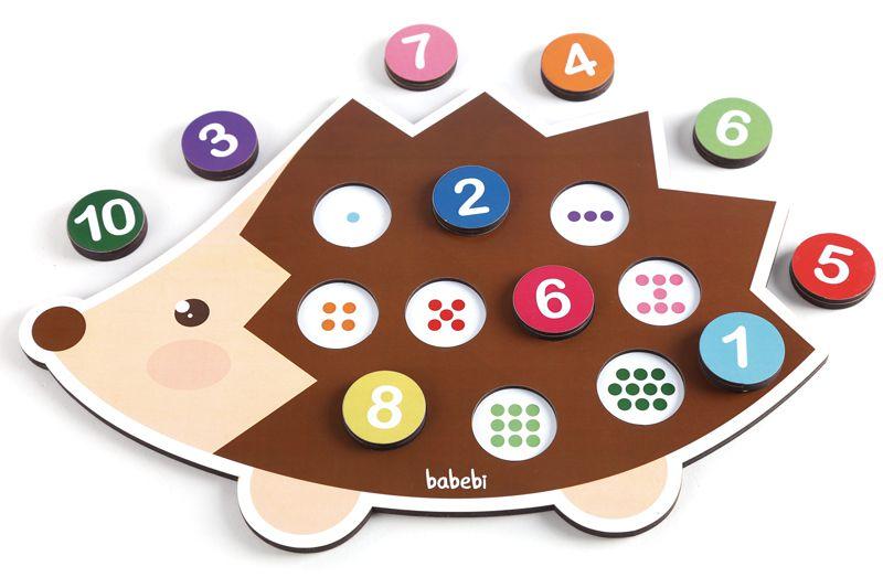 Brinquedo Conte Até Dez - Babebi