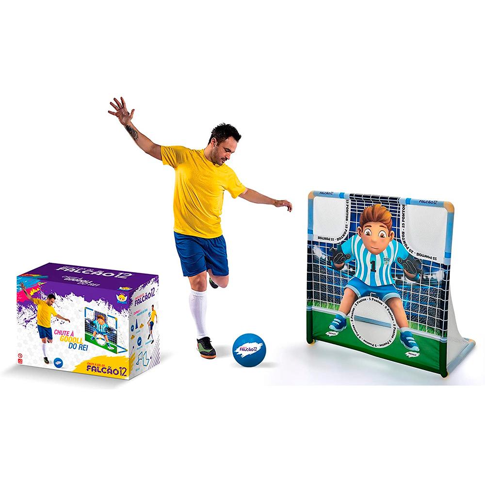 Brinquedo de Futebol Chute a Gol do Falcão 12 - Angel Toys