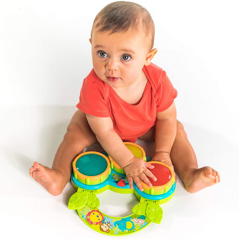 Brinquedo Musical de Percussão Infantil - Safari Beats Bright Starts