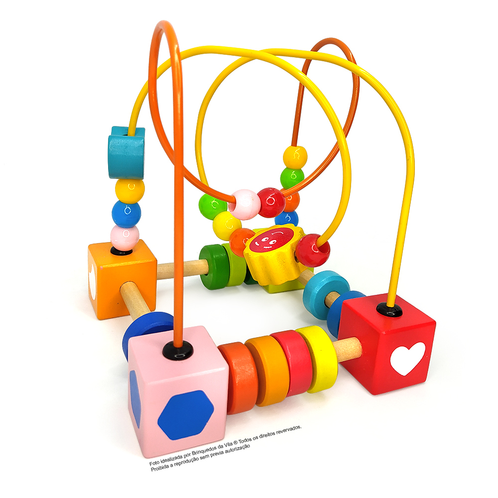 Brinquedo Educativo Aramado Montanha Russa
