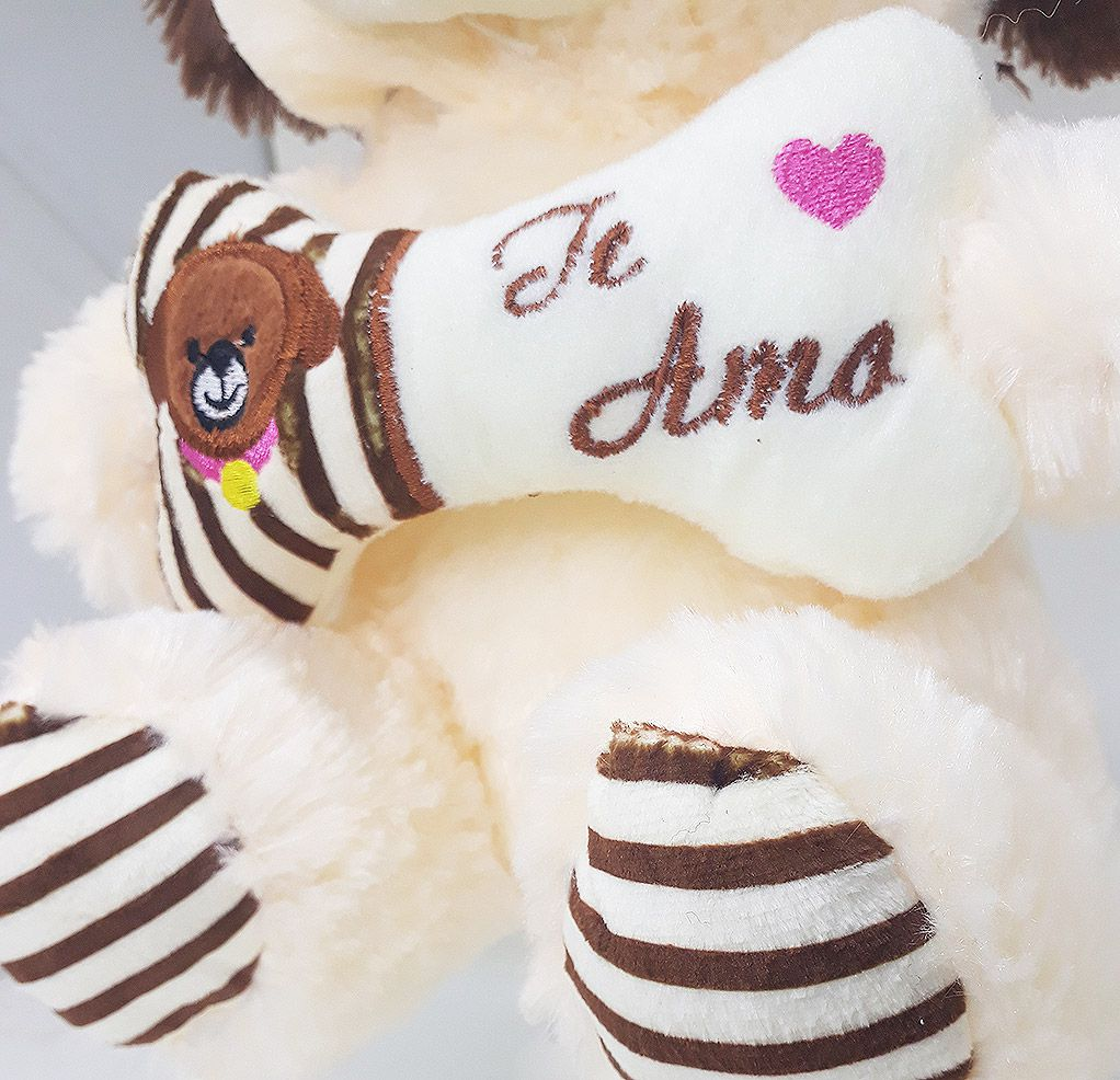 Cachorro de Pelúcia Te Amo - Bee Toys