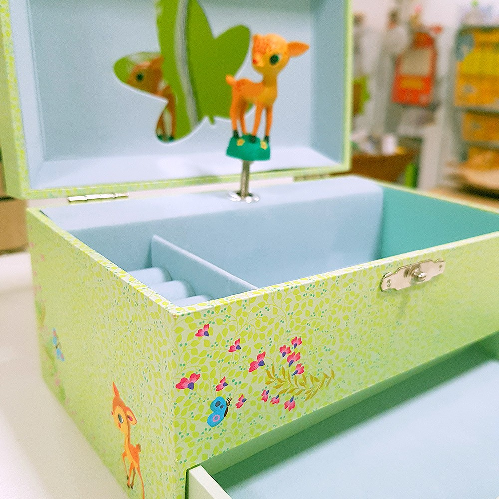 Caixa Musical Bambi - Djeco