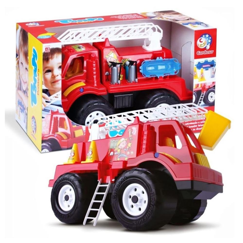 Caminhão Bombeiro Tandy Papa-Fogo - Cardoso Toys