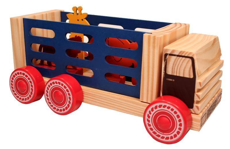 Caminhão de Madeira Circo - Carimbras