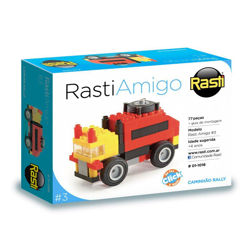 Caminhão Rally Coleção Rasti Amigo