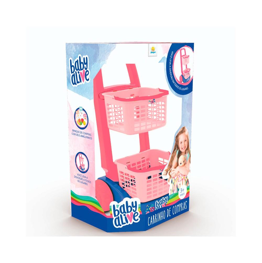 Carrinho de Compras Baby Alive - Angel Toys