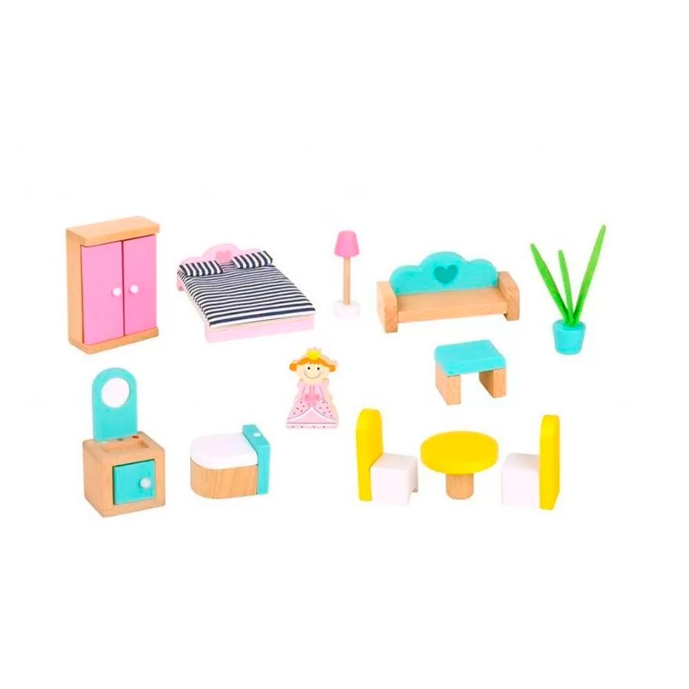 Casinha de Boneca Rosa - Tooky Toy