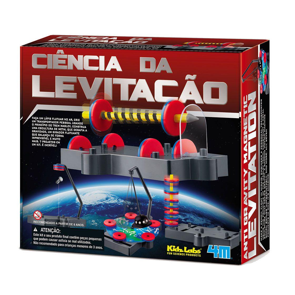 Ciência da Levitação Kit de Montagem