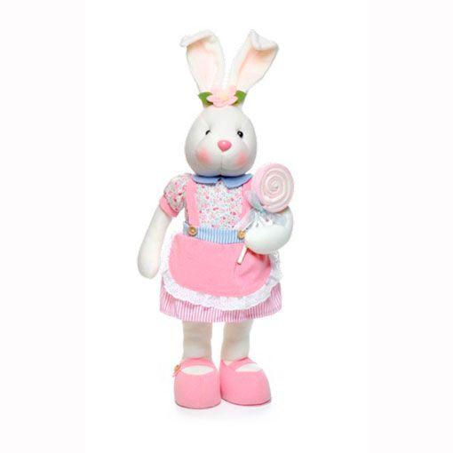 Coelha Decorativa Em Pé