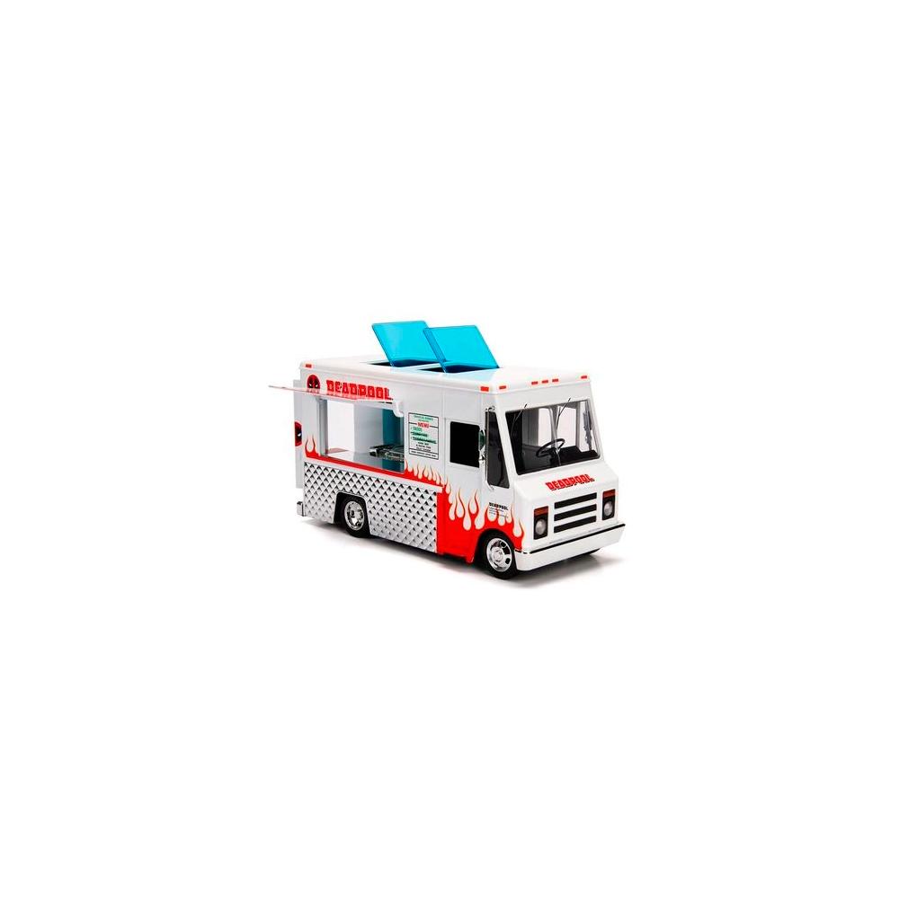 Deadpool Taco Truck Metal com Boneco - Marvel Jada Toys
