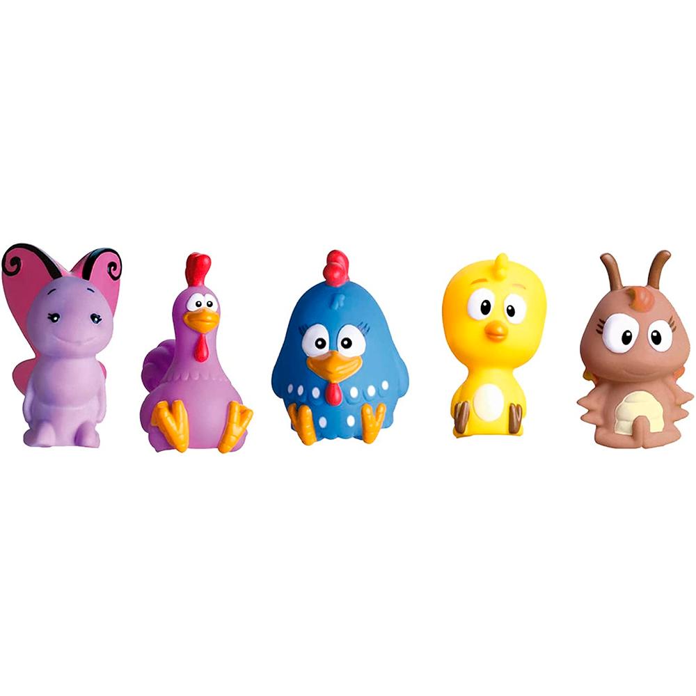 Dedoches Galinha Pintadinha em Miniatura com 5 personagens - Cardoso Toys