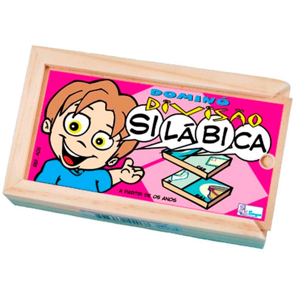 Dominó Infantil de Divisão Silábica - Simque