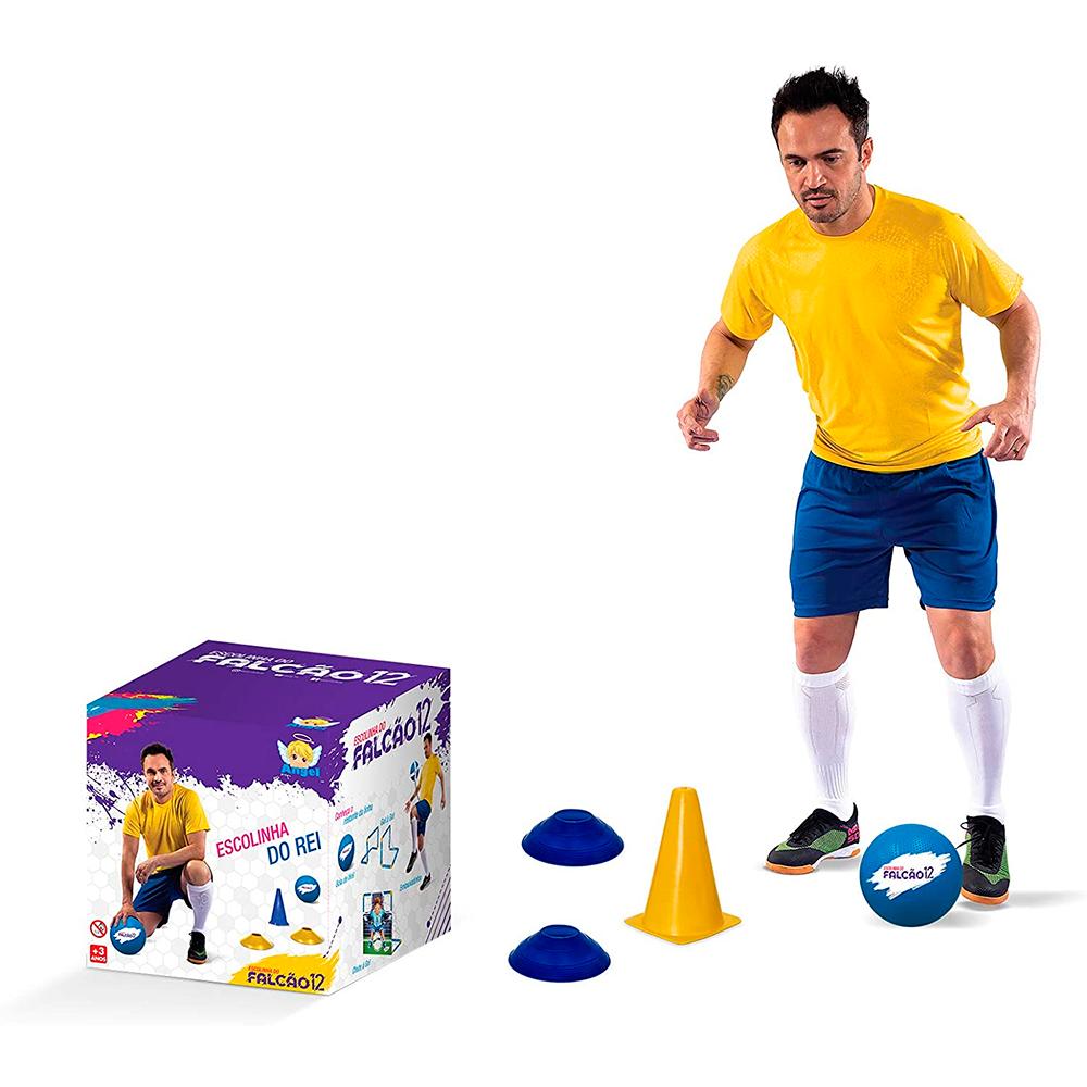 Escolinha do Falcão Brinquedo de Treino de Futebol - Angel Toys