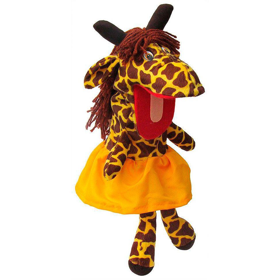 Fantoche de Girafa Amarela