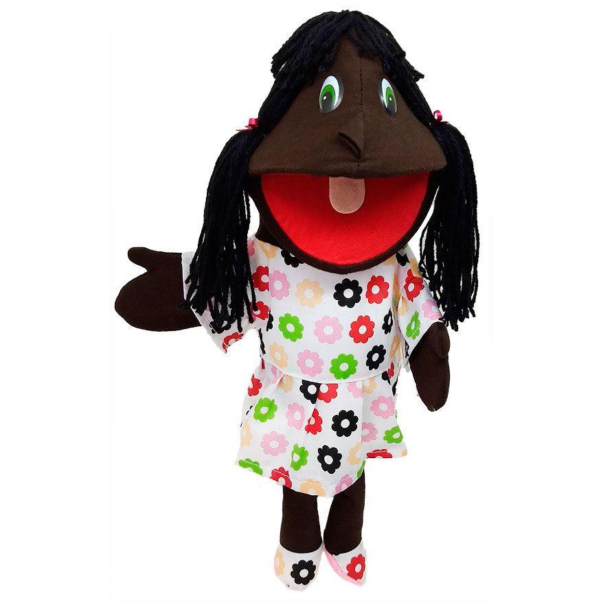 Fantoche de Menina Negra