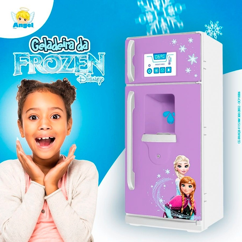 Geladeira da Frozen - Angels Toys
