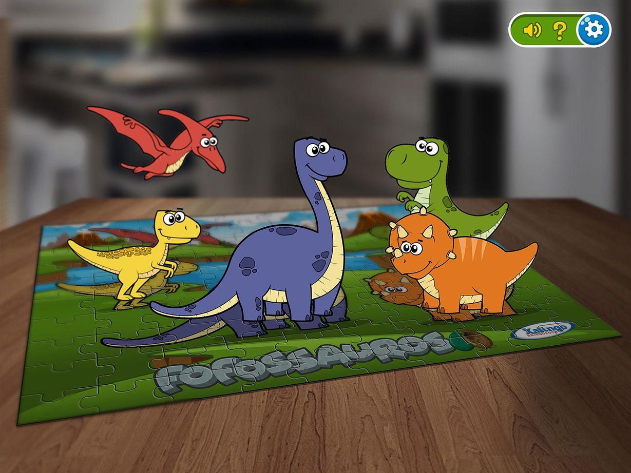 Interactive Play Quebra-Cabeça Interativo Fofossauros • Xalingo