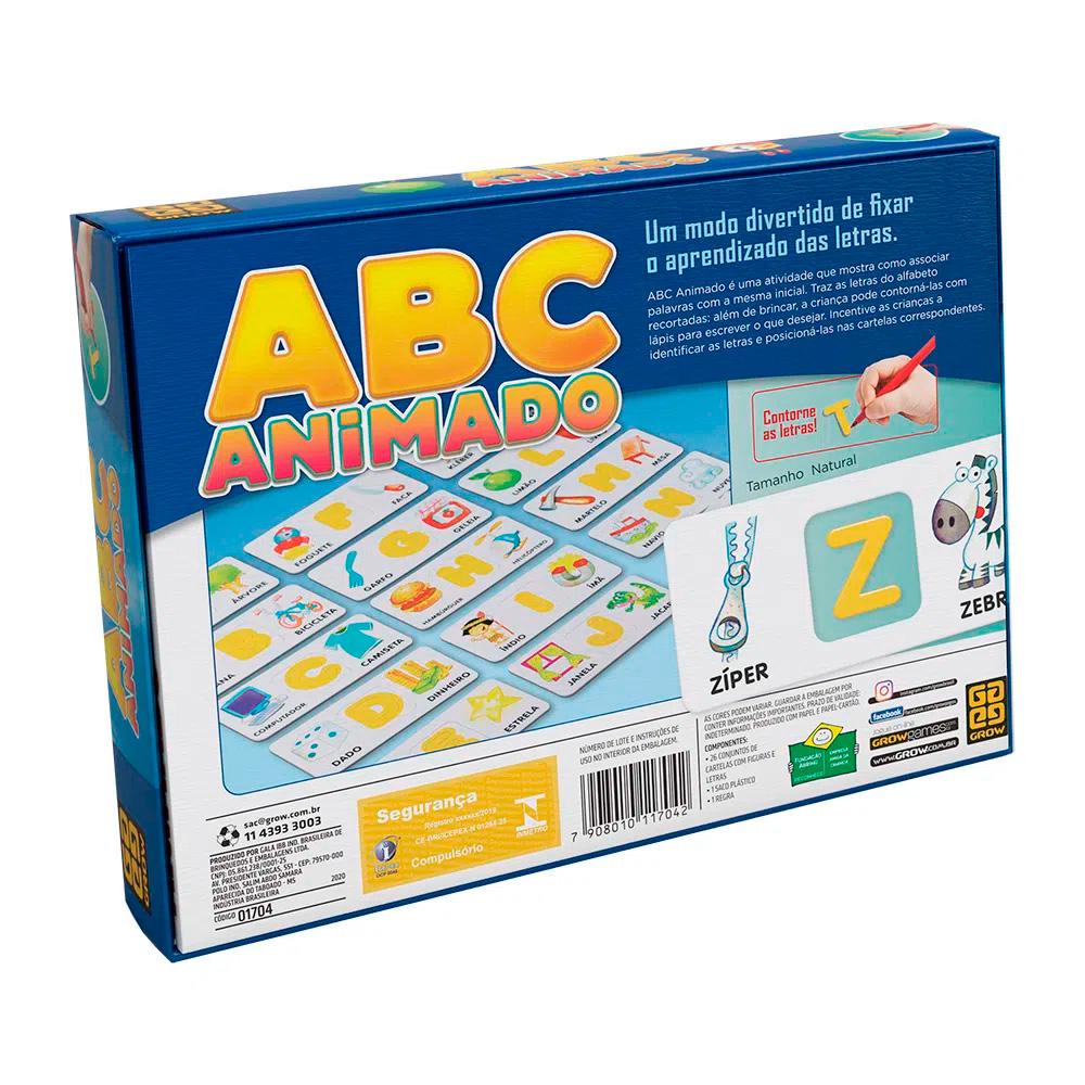 Jogo ABC Animado - Grow