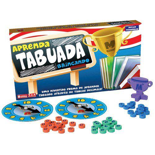 Jogo Aprenda A Tabuada - Algazarra