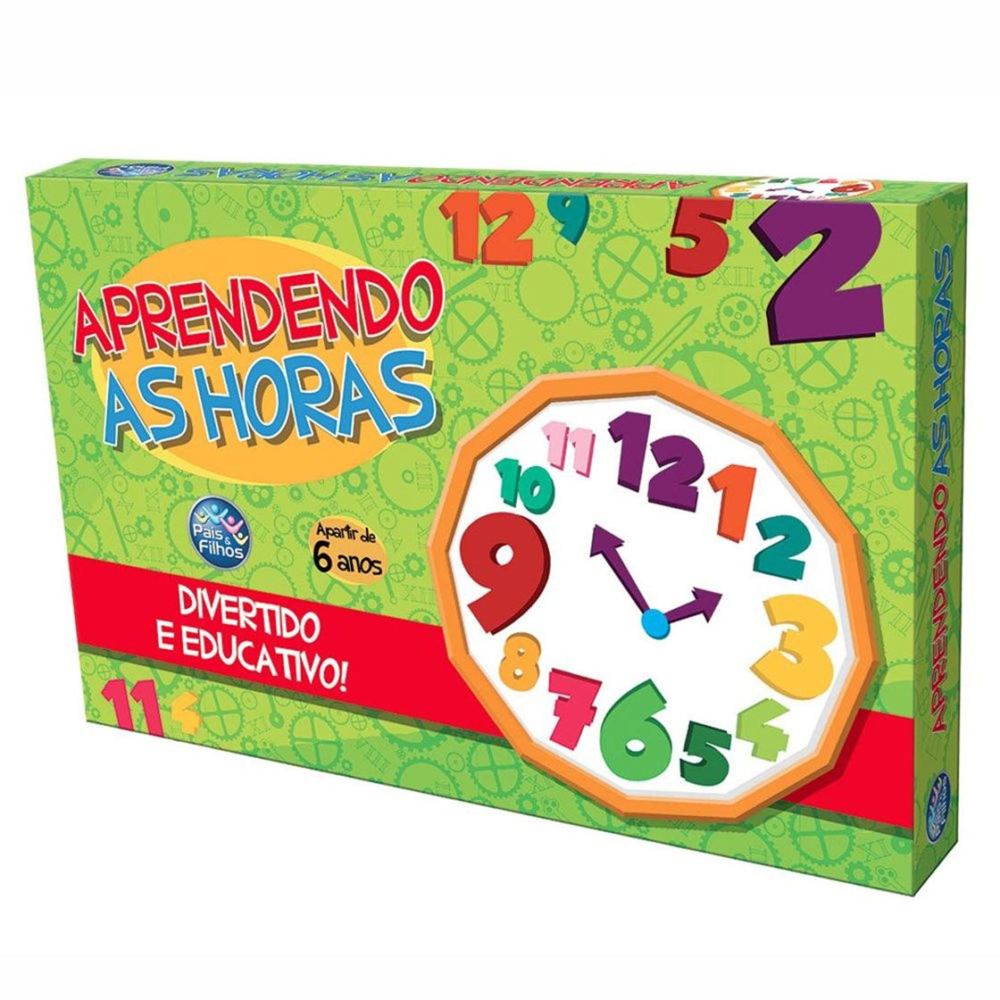 Jogo Aprendendo as Horas - Pais & Filhos